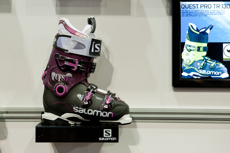 Salomon Quest Pro ski boot. - ©Ashleigh Miller Photography