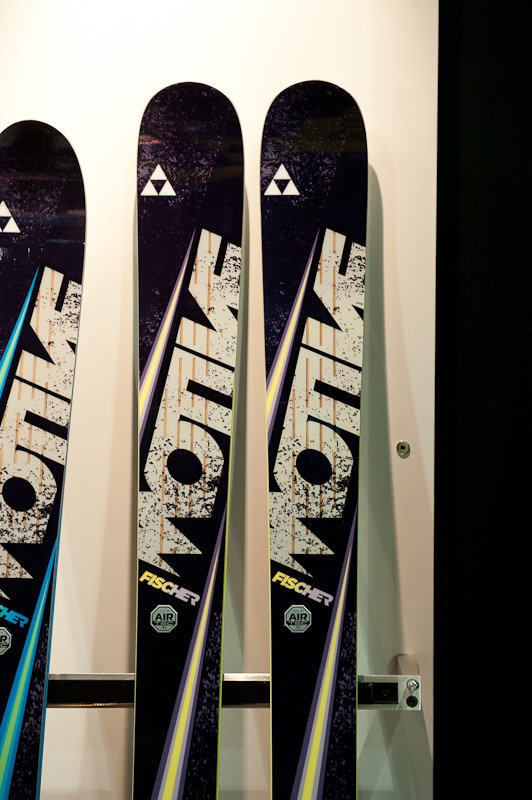 Fischer Motive 180 all-mountain ski. - ©Ashleigh Miller Photography