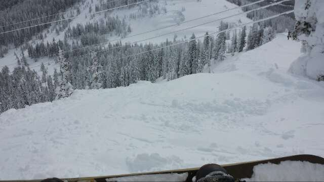 Love monarch Tuesday was awesome. Still lots of good snow