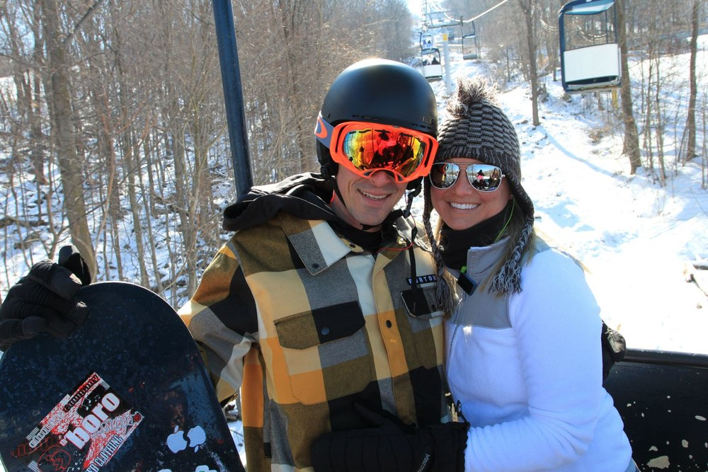 Take a spin on the Chairlift of Love at Mountain Creek. - ©Mountain Creek