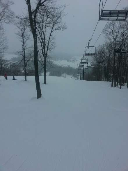 great fresh powder