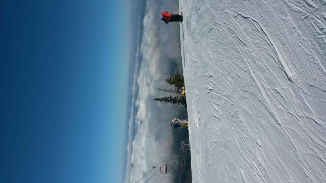 Its terible..... I hate borovets only the euro cup is cool.And the view is beautifull. :).The track is made of ice and crazy people.