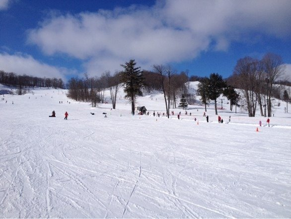 Great snow conditions at Boyne.