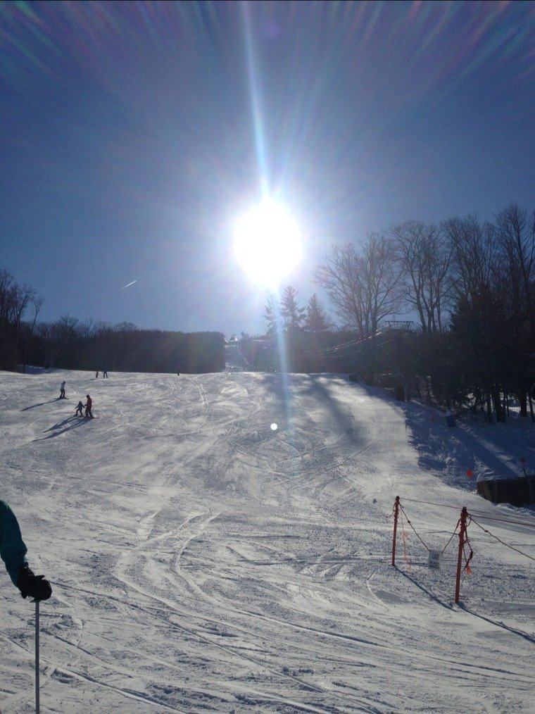 Its a great day on the slopes!  Over 3 ft. of snow between this week and last. Outstanding conditions!!!  bluebird day!!!