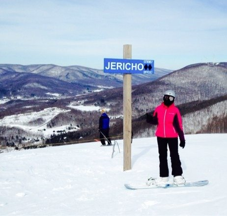Jericho and whirlway were awesome yesterday perfect conditions! Can't wait to hit the slopes tomorrow!