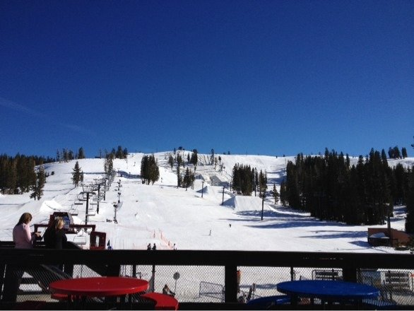 Perfect day for skiing :)
