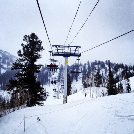Yesterday was amazing!!! Low visibility but loads of fresh snow!!! Very worth it to get up there!!!!!