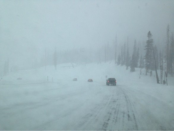 Heavy snow, but amazing non the less