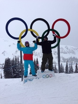 Another amazing powder day in whistler
