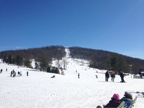 Went today and it was very fun! Couple ice patches around the park but no lines at all provided for a excellent day!