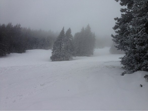 First time at apache. Wish the bowl would have had been more covered. There was some great powder and solid runs still available, considering how late in the season we are. I would go back.