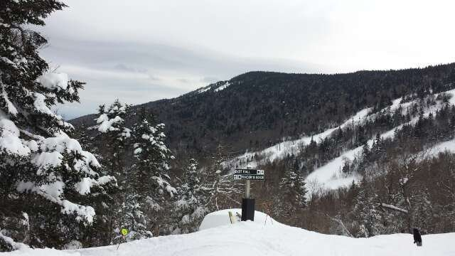 3/14: Great conditions following the storm but the large crowds and reduced lift service lead to some long lines.