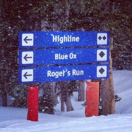 Started the day in sun up bowl but it was wind blown and icy so went to highline express via gandy dancer and the runs were great!