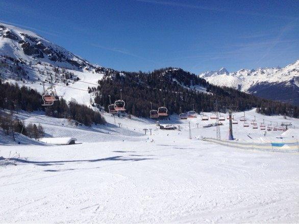 Very good skiing.