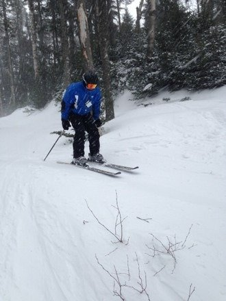 Great conditions. Still winter in the daks. Even the glade trails were a blast.