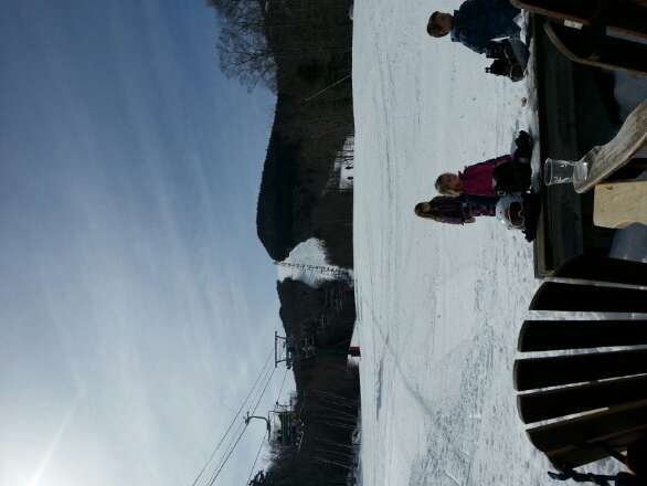 awesome day for spring skiing at Loon!