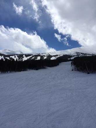 Great snow last night. Best spring skiing. No lines. More snow ahead this week.