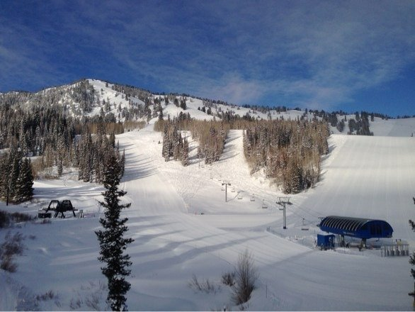 Left Sun Valley and drove 4 hours to Solitude yesterday so we could take advantage of the great snow. Best idea ever...