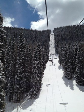Was at telluride last week and the powder they got Thursday was unreal. Best conditions ever