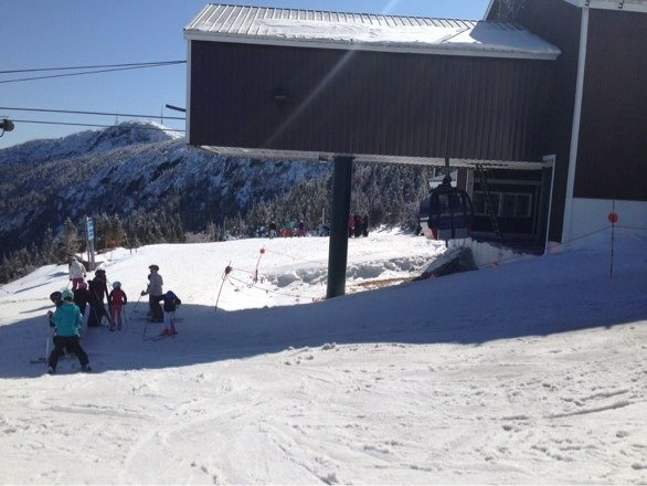 Last day of the year the gondola is open. What a shame. Great day!