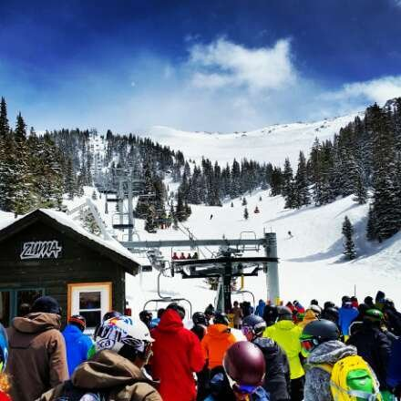 The snow was great, but gapers started showing up by 10. Good thing they are at Keystone the majority of the season.