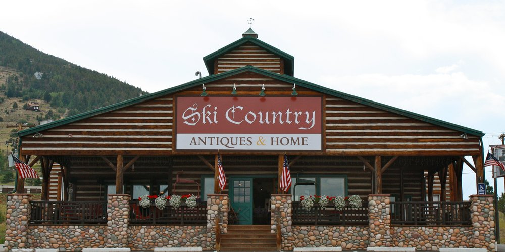 Pull off on exit 248, cruise the frontage road over the highway and get lost in ski history's past at Ski Country Antiques & Home. - ©Ski Country Antiques & Home