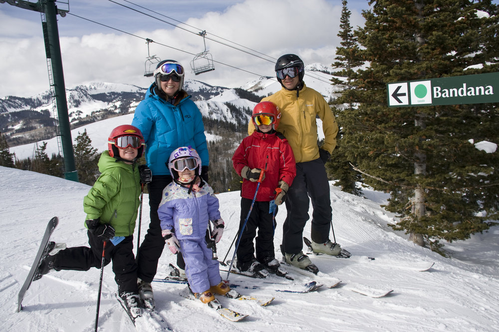 Deer Valley is a family skiing favorite.