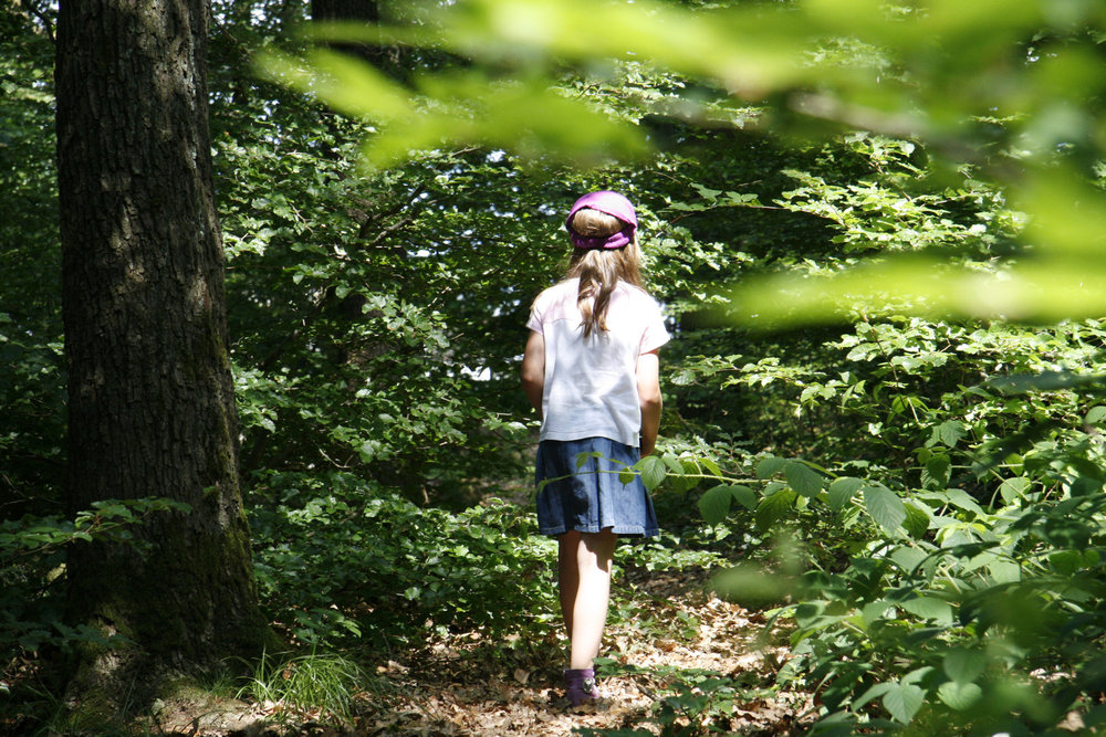 Kids can have fun exploring nature in the German Sauerland region
