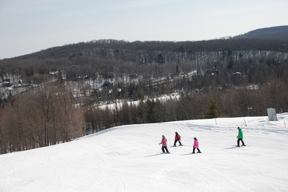 The accessible terrain at Ski Brule make the mountain one perfect family vacation destination.