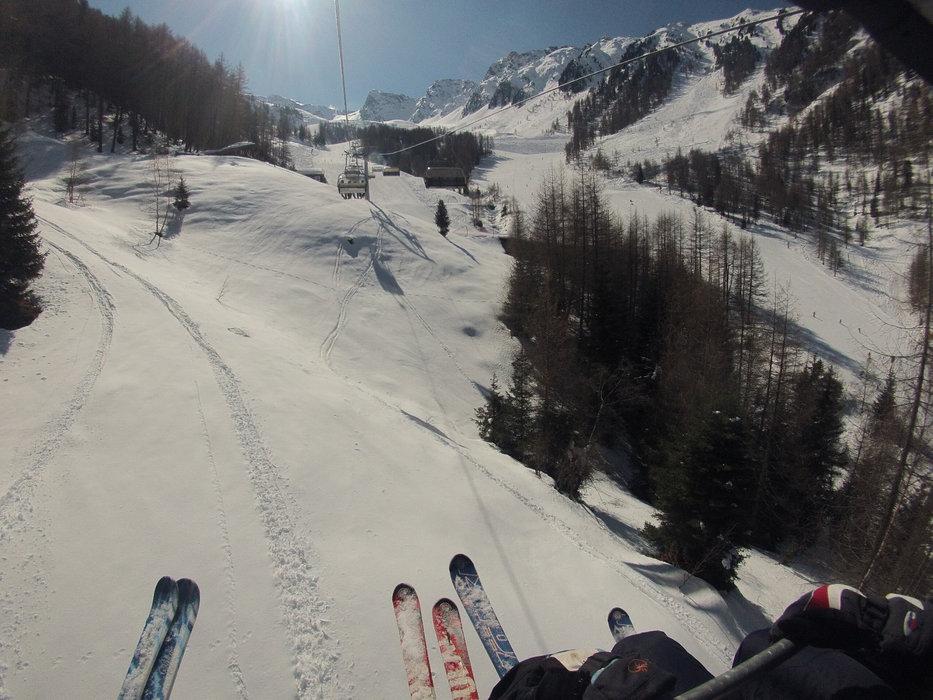Skiing Klausberg