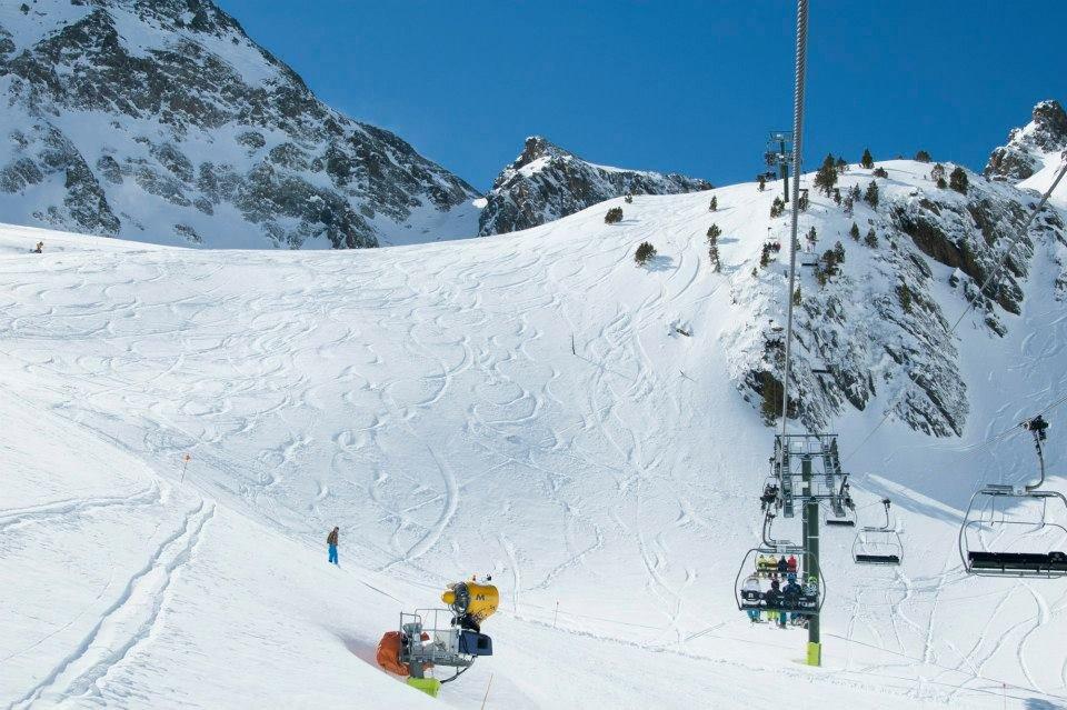 Vallnord, Andorra March 6, 2014