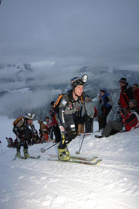 Ski Tour Night Sprint in Seefeld, AUT.
