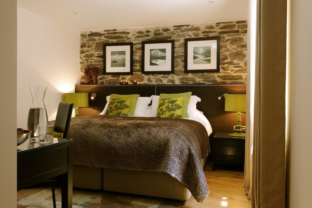 Abode luxury bedroom - ©the alpine club @ Skiinfo Lounge