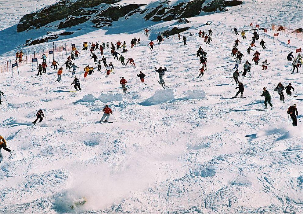 Bump Bash freestyle competition in Zermatt