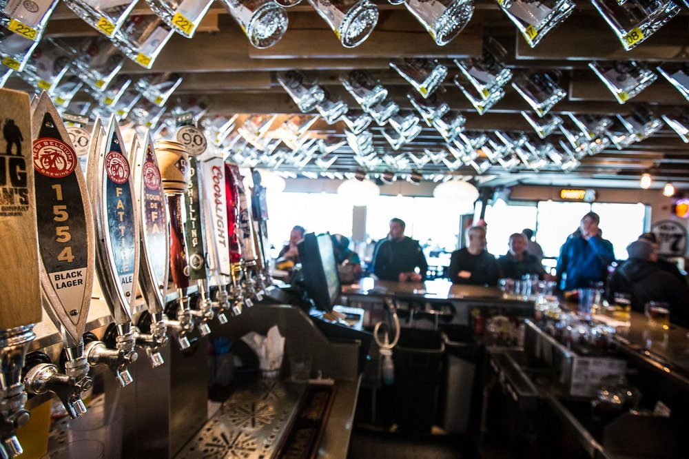 Several hundred people also waited in line to gain membership in the 6th Alley Mug Club, an Arapahoe Basin tradition for more than a decade. - ©Dave Camara/Arapahoe Basin Ski Area