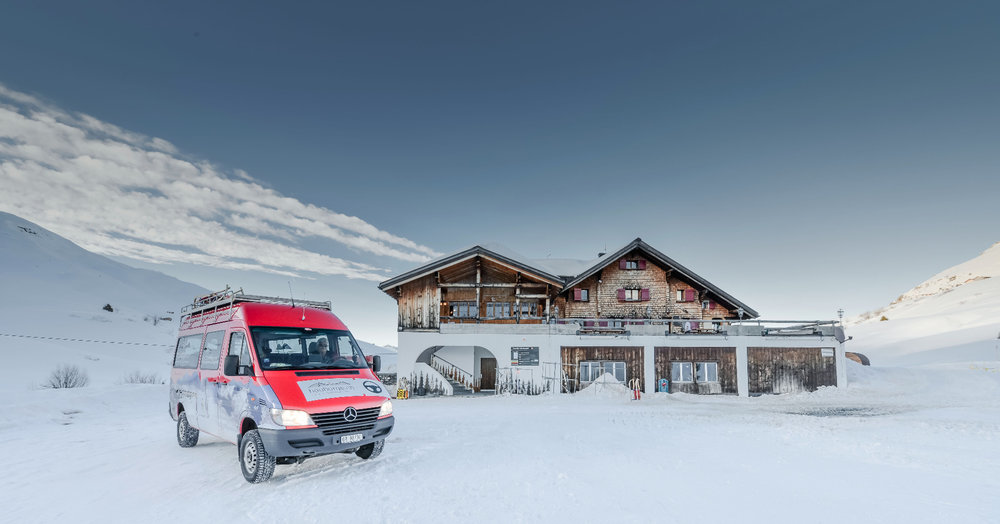 You can use public transport all over the resort area - ©Fideriser Heuberge