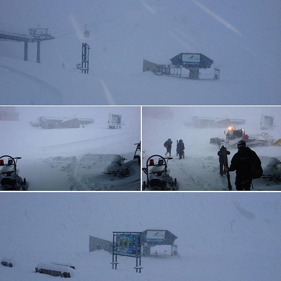 Neve fresca a Kitzsteinhorn 23 Ottobre 2014 - ©Kitzsteinhorn
