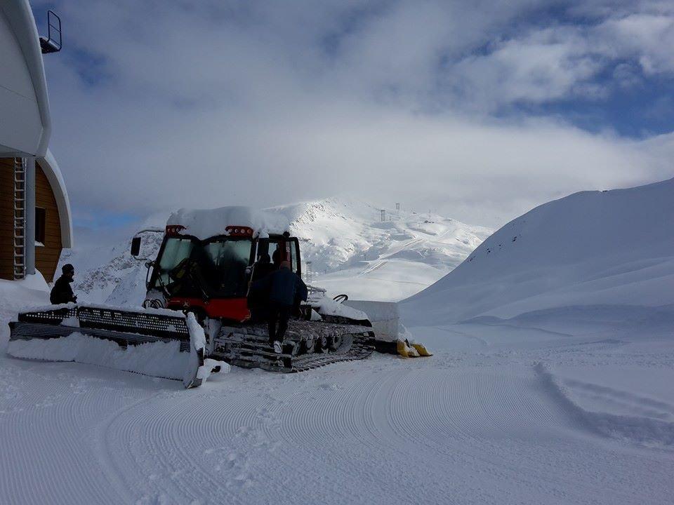 Les 2 Alpes Nov. 18, 2014 - ©Les 2 Alpes/Facebook