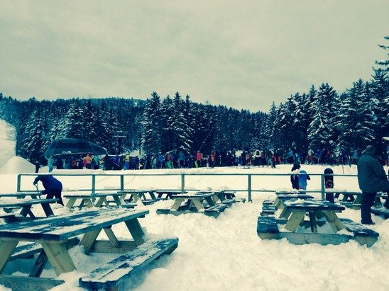 Bad lift management today snowshow lines are ridiculous