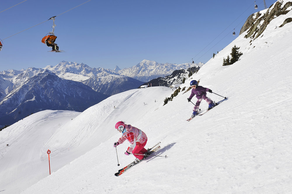 There is a guarantee for fun on the pistes - ©Aletsch Arena