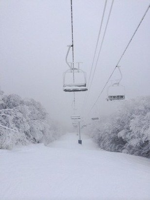 Some of the best mid December conditions in recent memory. 105 of 120 trails open.