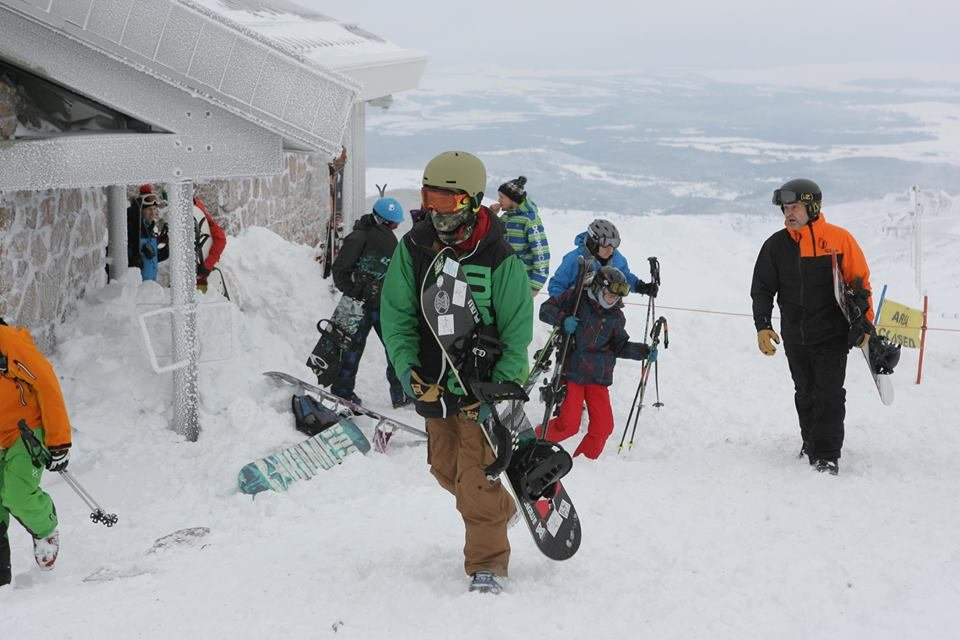 Cairngorm Mtn open for skiing Dec. 13, 2014 - ©Peter Jolly