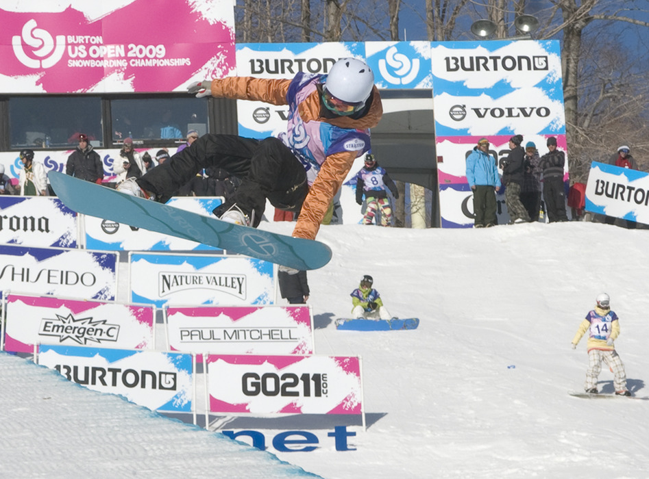 Cilka Sadar in Burton US Open 2009 Snowboarding Championships at Stratton