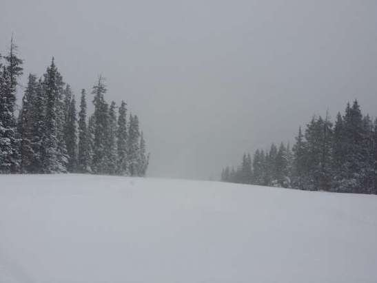 unreal day of powder at ski cooper.  snowed all day dumping another 8