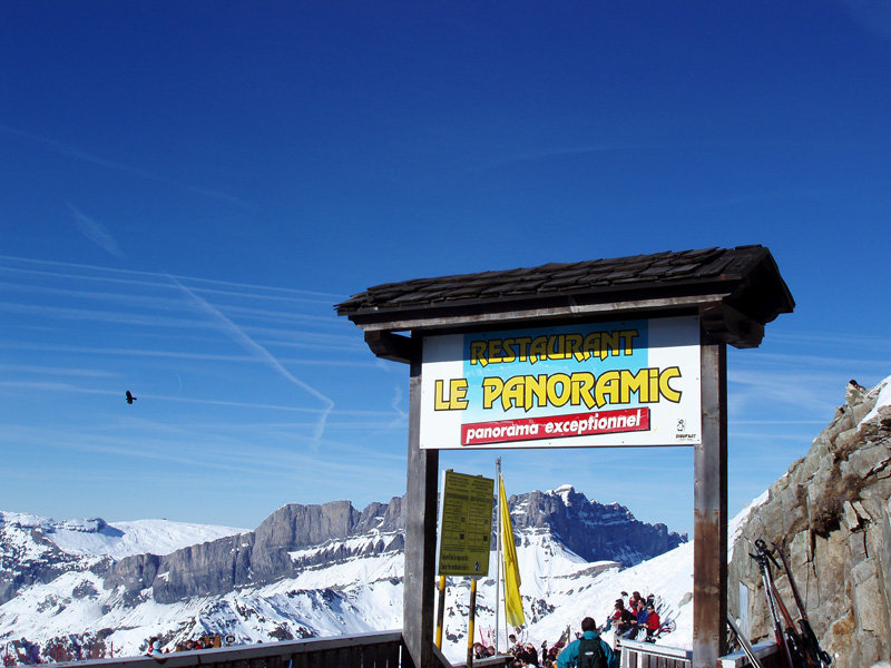 Restaurant Le Panoramic in Chamonix