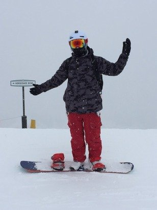 Horseshoe bowl was awesome today! Snow is awesome