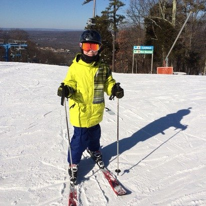 Great day at Shawnee. Conditions were great. It was a fun day on the slopes!