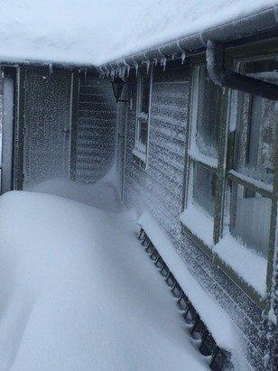 Mye snø her:) har blåst endel i det siste men helgen melder gode forhold !:)