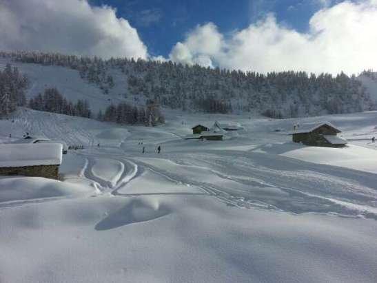 Finalmente tanta tanta neve! Piste top oggi!!!