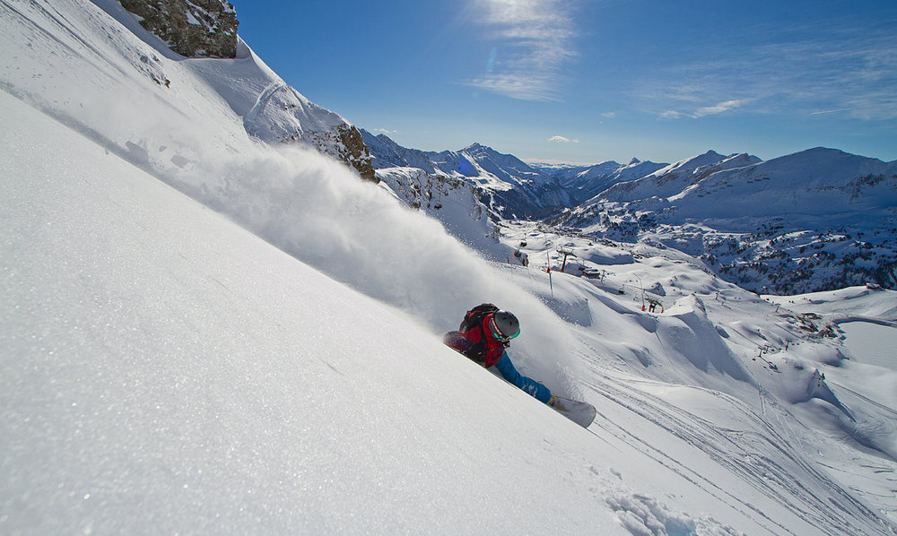 Freeriding is hip here - ©Obertauern